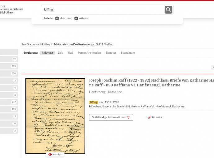 Bayerische Staatsbibliothek: