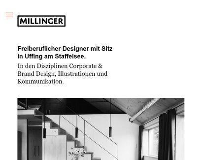 Lukas Millinger - Freiberuflicher Kommunikationsdesigner